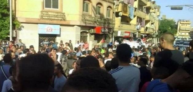 مسيرة في الأقصر تتهم الشرطة بتعذيب مواطن حتى الموت