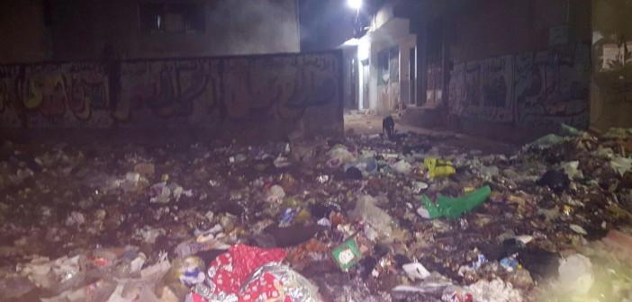📷| تفاقم مشكلة القمامة في شوارع بالمرج