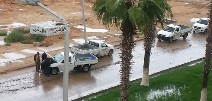 🔴 انقطاع المياه عن برج العرب لليوم الخامس.. وسد الاحتياجات من الصرف وبرك السيول