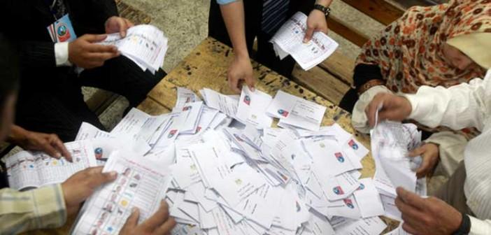 نتائج فرز أصوات لجنة 91 بدائرة دكرنس وبني عبيد