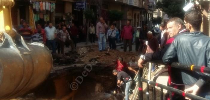 📷| الإسكندرية.. انهيارات أرضية متكررة تضرب عروس البحر المتوسط