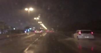أمطار غزيرة فى الكويت