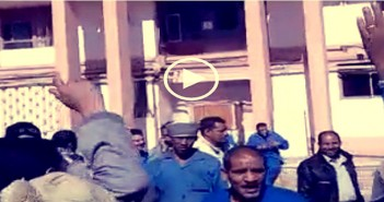 اعتصام عمال مصر للألومنيوم بنجع حمادي في قنا