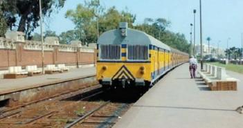 قطار أبو قير ـ أرشيفية