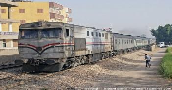 قطارات مصرية ـ أرشيفية