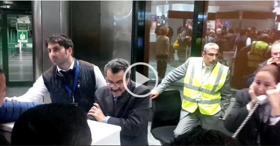 فيديو..ركاب: ارتباك بمطار ميلانو لتأجيل رحلات القاهرة بسبب الظروف الجوية