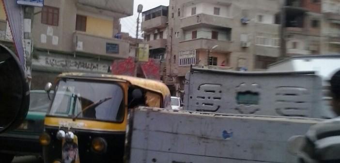 مواطنون يشكون فوضى المرور بمحيط ميدان التحرير بكفر الشيخ