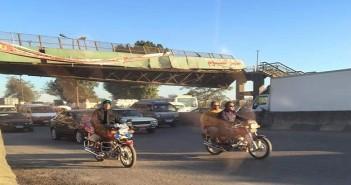 كوبري مشاة كفر أبو جمعة ـ القليوبية، طريق مصر إسكندرية