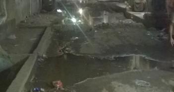 مياه الصرف تضرب شوارع في مدينة الخصوص