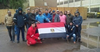 عمال شركات قناة السويس يواصلون اعتصامهم المفتوح لليوم الـ 6