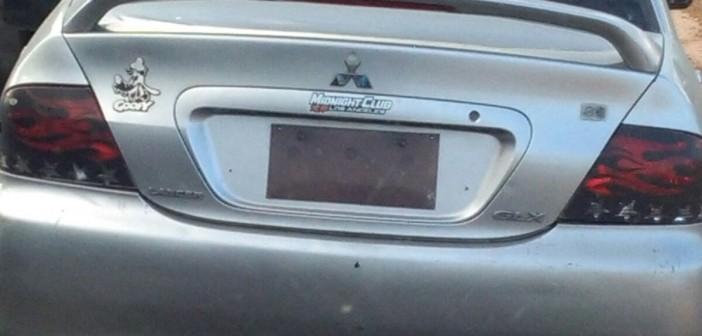 📷| سيارة دون لوحات معدنية على طريق مصر ـ الإسكندرية الزراعي