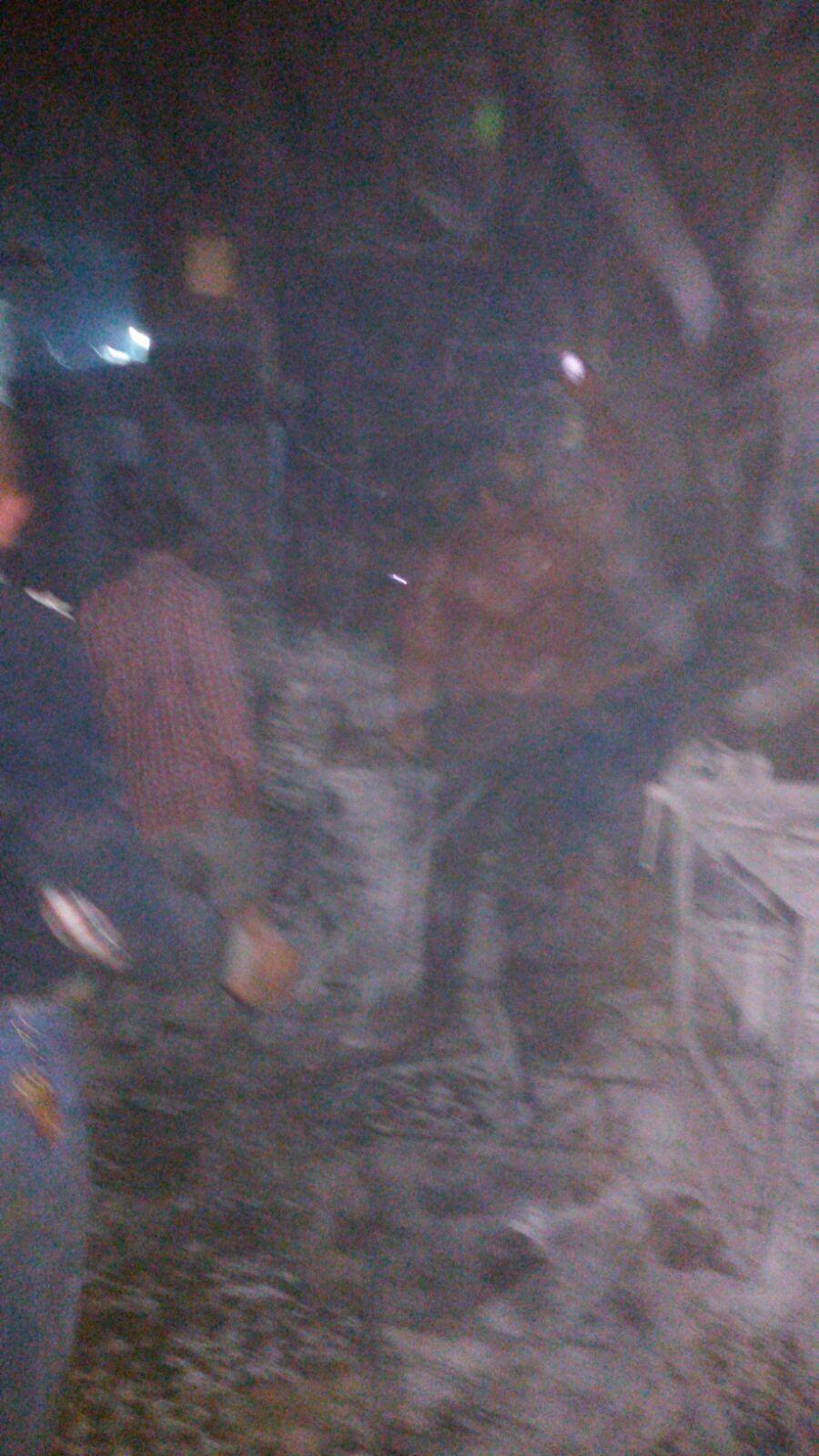 انفجار اسطوانة غاز بورشة خراطة في الزقازيق