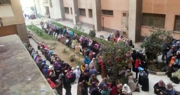 إضراب تمريض مستشفى جامعة المنوفية