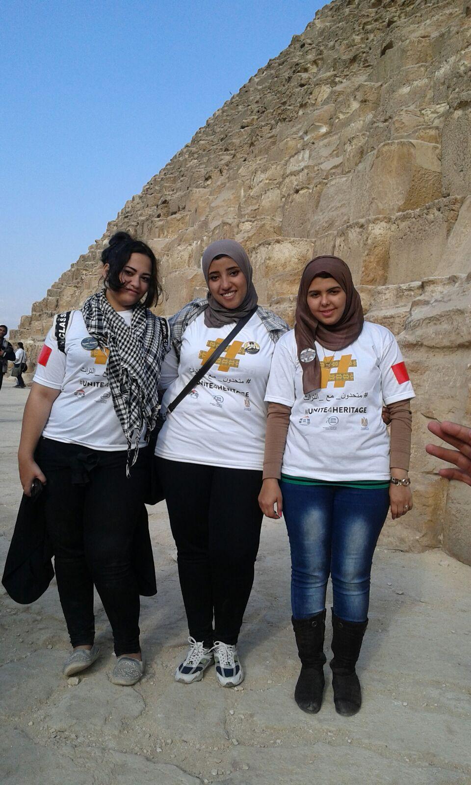 #متحدون_مع_التراث في الأهرامات.. وحضور ليلى علوي وعبدالرحمن أبو زهرة
