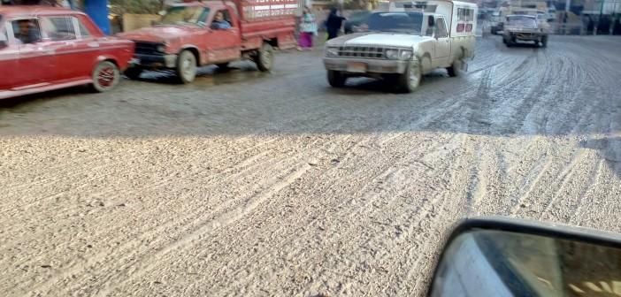 📷| شوارع الفيوم تغرق في الوحل بعد موجة الأمطار الأخيرة