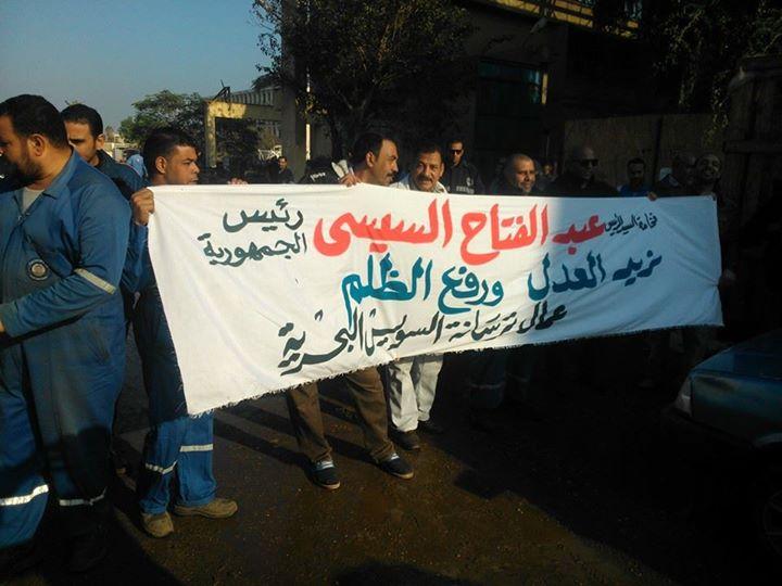أسبوع على احتجاجات عمال شركات قناة السويس.. ومطالب للرئيس بضمهم للهيئة