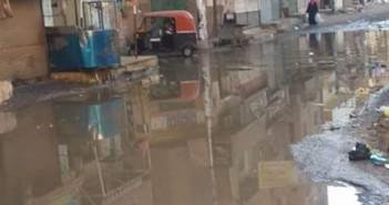 غرق شوارع بني مزار في مياه الصرف وسط غياب المسؤولين