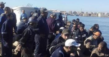 اعتصام عمال «ترسانة السويس» احتجاجًا على عدم صرف مستحقاتهم المالية