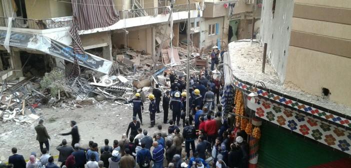 📷| بالصور.. اللقطات الأولى من موقع «انفجار فيصل»