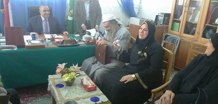 📷| نائبة برلمانية تزور كلية الدرسات الإسلامية بفاقوس
