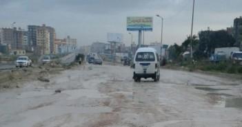 طريق الإسكندرية مطروح