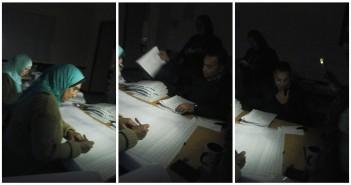 مدرسة بـ 6 أكتوبر بدون كهرباء.. وتصحيح الامتحانات على ضوء الهواتف