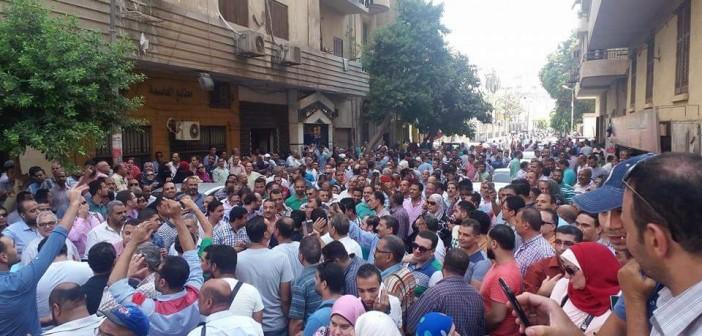 موظفو الضرائب يتظاهرون ضد «الخدمة المدنية»: القانون لا يُحسن أوضاعنا