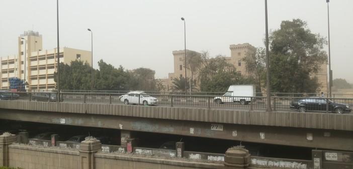 📷| «الجو تراب» في جامعة القاهرة