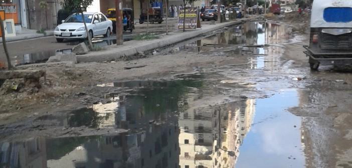 بحيرة مجاري في «طوسون» بالإسكندرية.. ومواطن: سنحولها لمزار سياحي