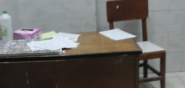 أطباء «استقبال» مستشفى بالإسكندرية غير متواجدين لرعاية المرضى
