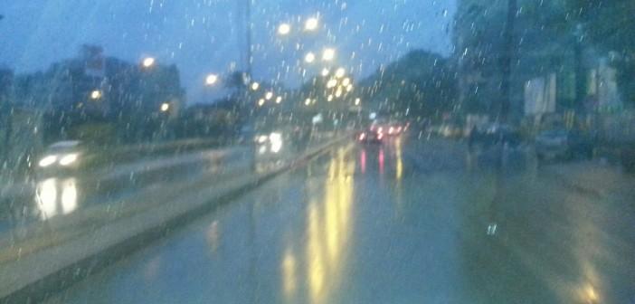 📷| الموجة مُستمرة.. أمطار غزيرة في أجواء القاهرة