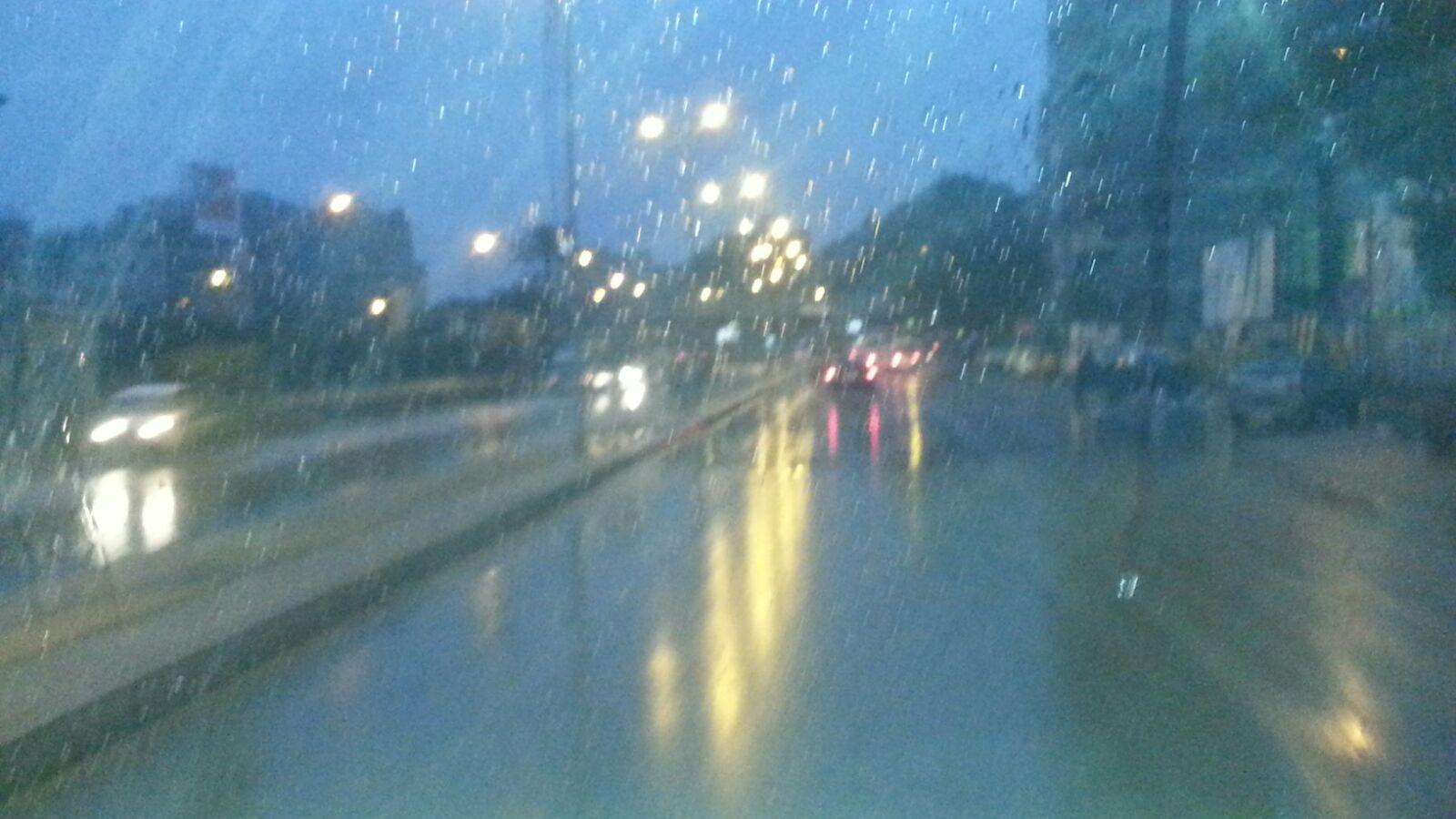 الموجة مُستمرة.. أمطار غزيرة في أجواء القاهرة