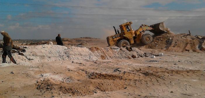بالصور.. مهندس يحذر من الاستيلاء على أراضي الدولة عَ «الصحراوي»
