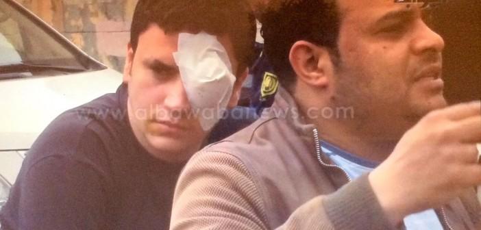 حارس أمن بـ«فالكون»: «عيني راحت» بتفجيرات جامعة القاهرة.. والشركة أهملتني