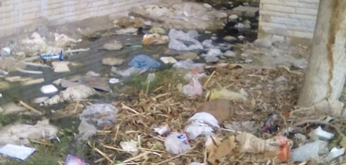 📷| مربع 27 الشروق.. مستنقع من الصرف والقمامة خارج اهتمامات جهاز المدينة