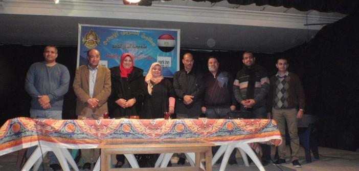 📷| بجهود أهلية.. افتتاح أول صالون ثقافي بـ«الشروق» لغياب مراكز رعاية الشباب