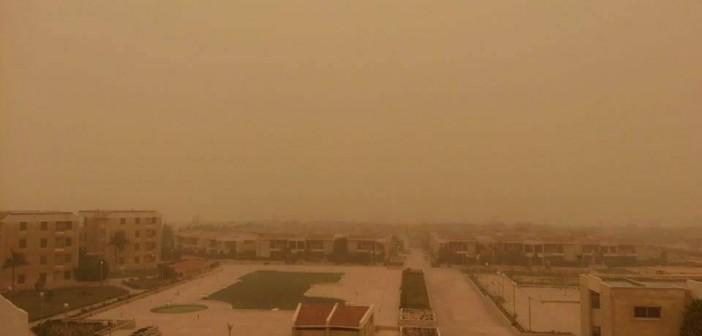 بالصور.. عاصفة ترابية تجتاح مناطق في الإسكندرية (شاركونا صوركم للأجواء الآن)