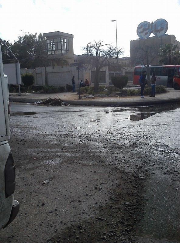 أمطار وانخفاض ملحوظ في درجات الحرارة بمدينة 6 أكتوبر