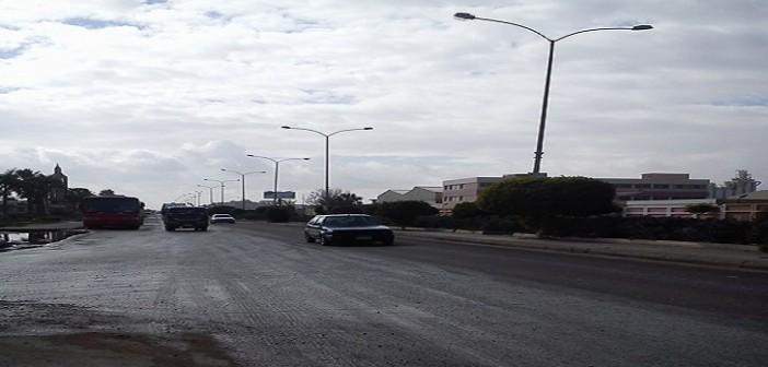⛅ بالصور.. سقوط أمطار وانخفاض درجات الحرارة بمدينة 6 أكتوبر