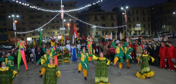 📷| بالصور.. احتفالات بالمنصورة بالعيد القومي لمحافظة الدقهلية
