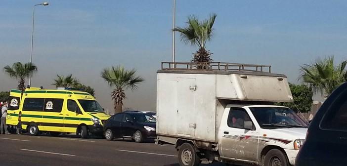 📷| مطالب بكوبري مشاة لوقف نزيف الدماء على بوابة «الشروق»