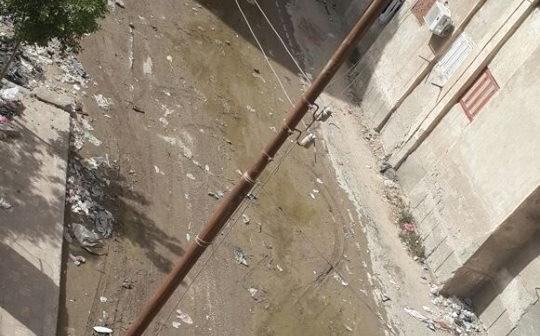 في استجابة لـ«شارك».. «مياه الإسماعيلية» تسحب الصرف من منطقة الكوكولا
