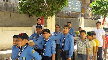 بدء النشاط الكشفي بمدارس وسط الإسكندرية (صور)