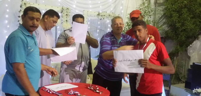 نادي الداخلة يكرم الفائزين في مسابقة ألعاب القوي بالوادي الجديد