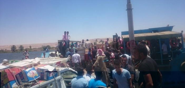 قرية «الشورانية» تعاني الحصار بعد تعطل أسطول العبارات