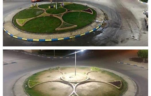 مطالب بإعادة تشجير ميدان «الزهور» بالإسماعيلية (صورة)