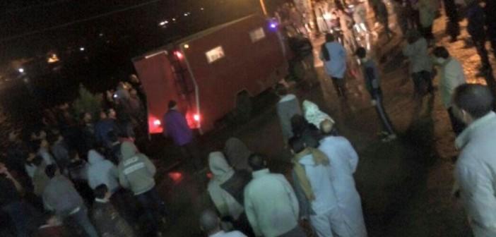 📷| مصرع 15 في غرق معدية نهرية بكفر الشيخ