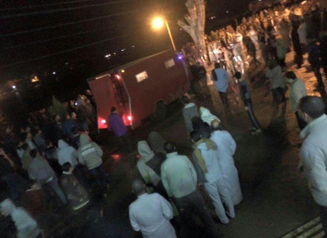 مصرع 15 في انقلاب معدية بنهر النيل في مركز فوة بكفر الشيخ