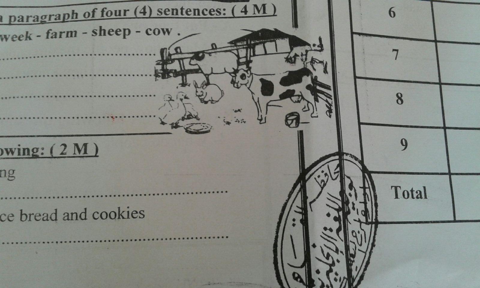 رغم إجراءات «التعليم».. تسريب امتحان اللغة الإنجليزية في المرج