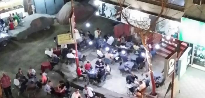 📷| مقاهي شارع سهل حمزة بالهرم تتسبب في إزعاج الأهالي